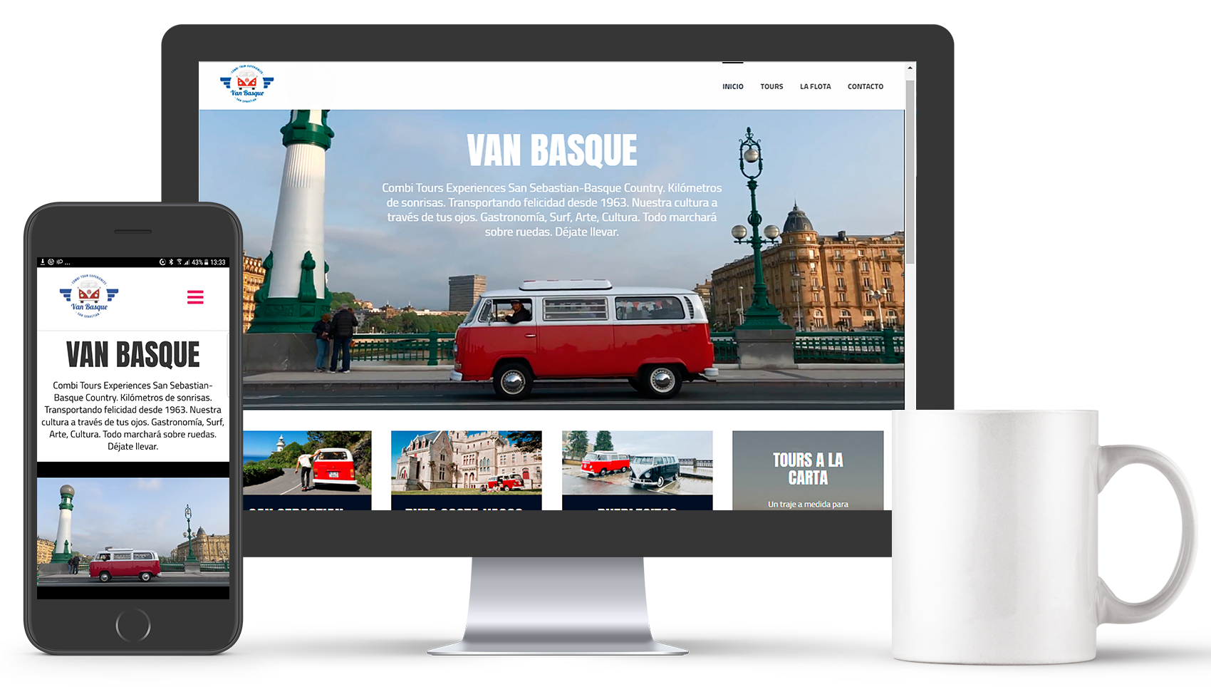 Van Basque web